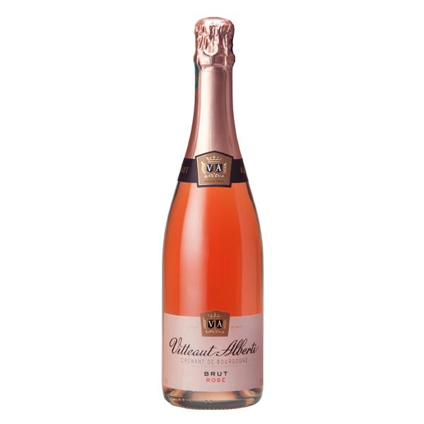 Brut Rosé Cremant de Bourgogne Vitteaut Alberti