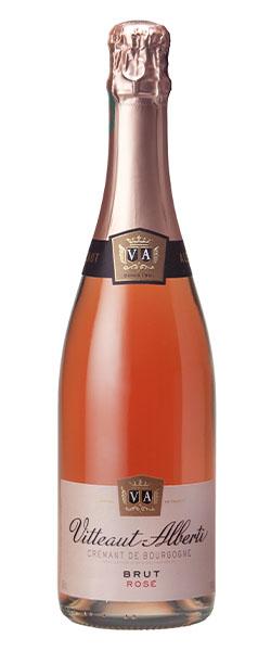 Crémant rosé brut Vitteaut