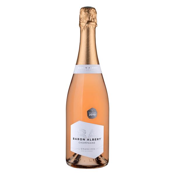 Emancipée rosé saignée Baron Albert Champagne