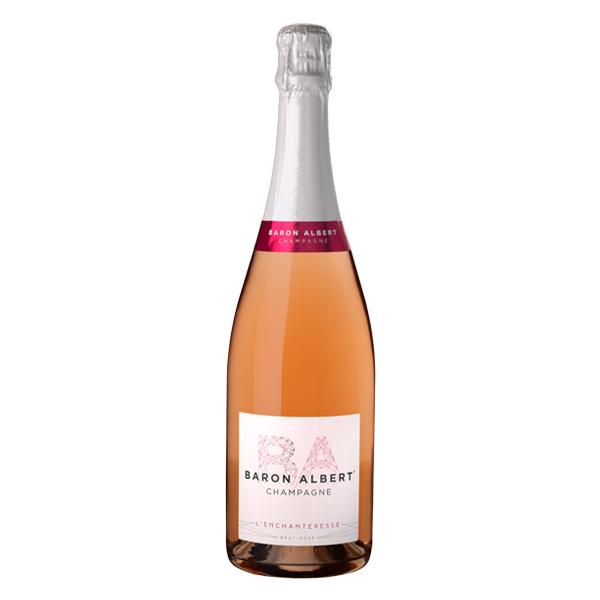 L'Enchanteresse de Baron Albert Champagne Rosé