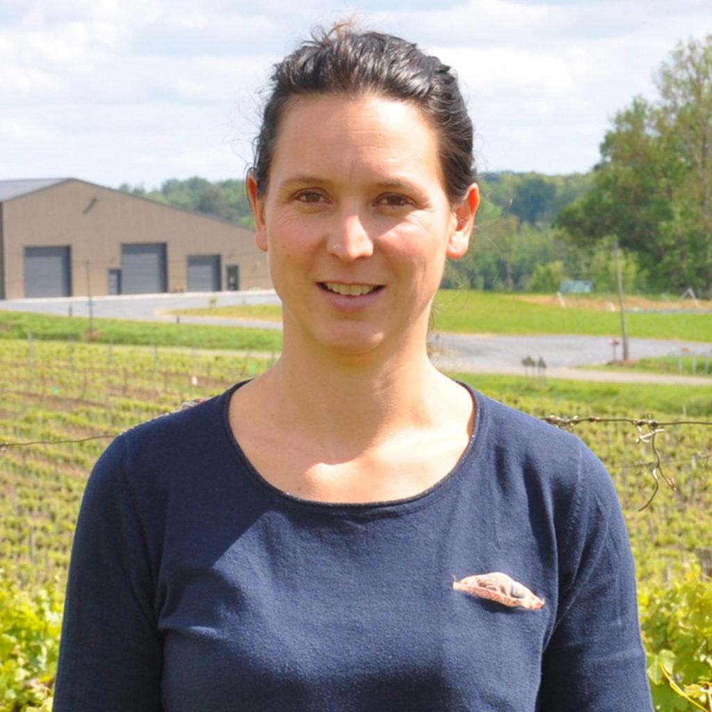 Muriel de Wit vigneronne en Gascogne