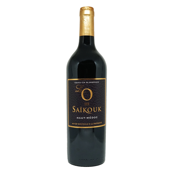 O de Saikouk haut Médoc Bordeaux rouge